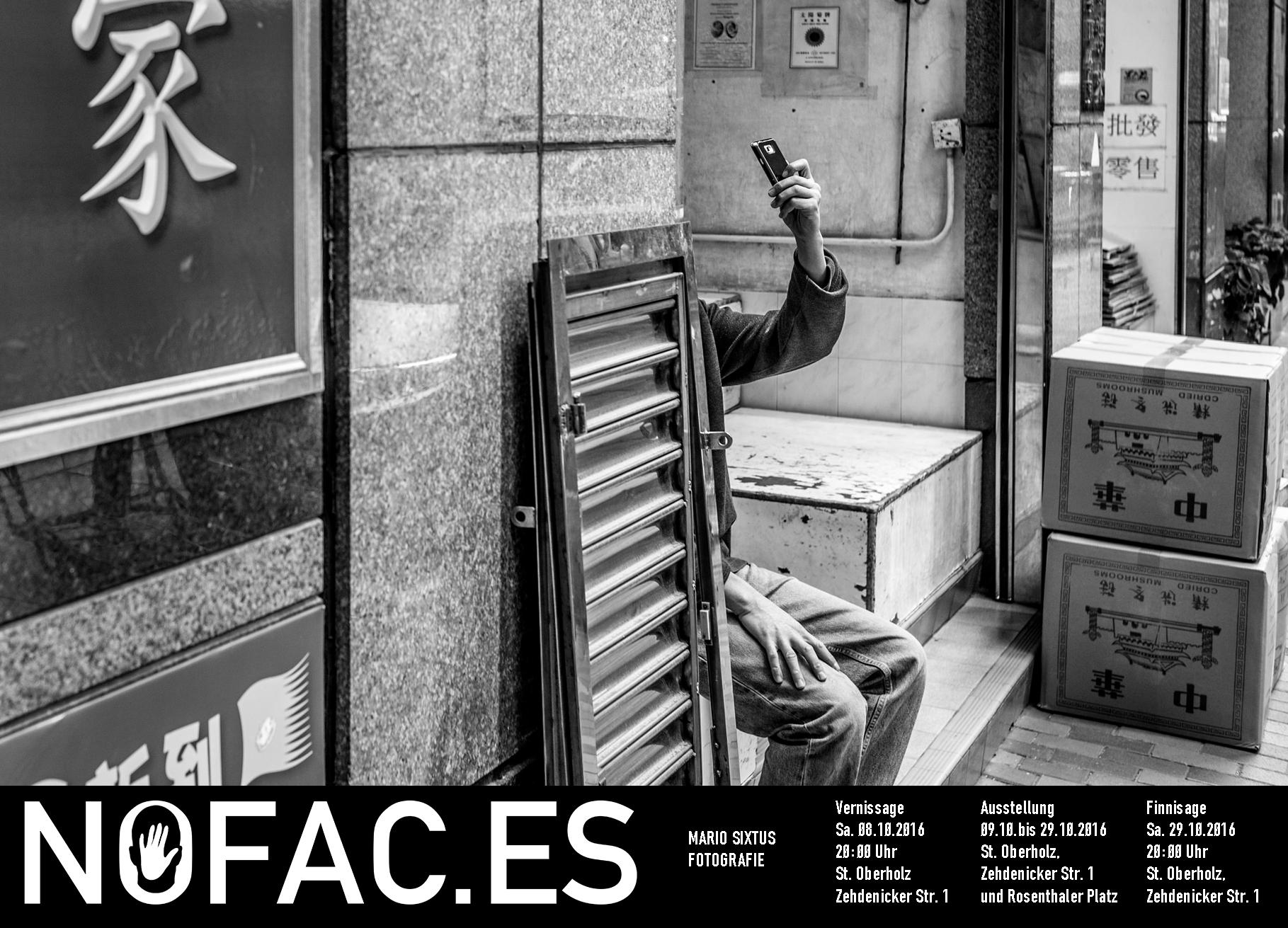 Erste Solo-Ausstellung in Berlin: nofac.es